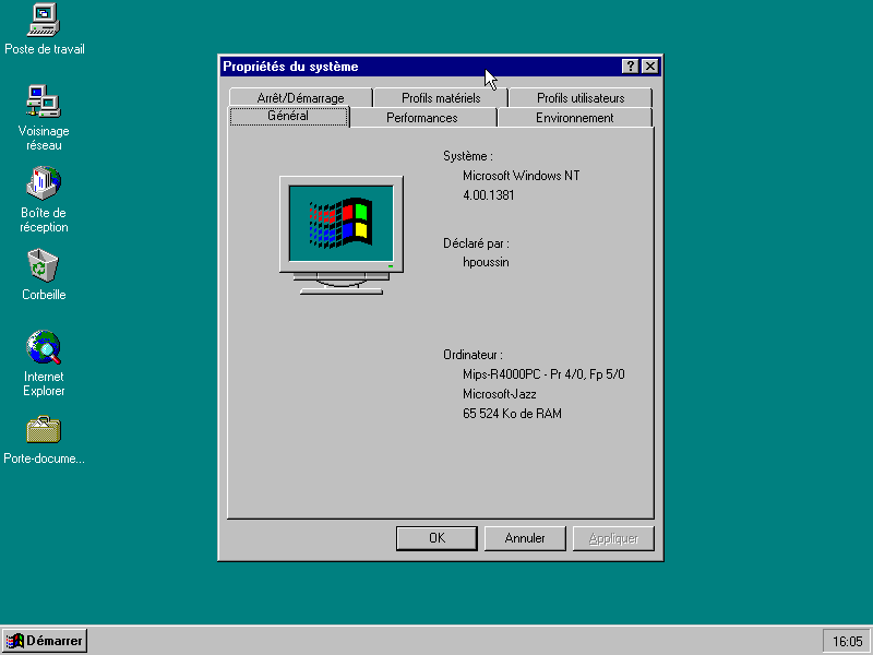 Installing Windows NT 4 0 on Qemu(MIPS) - Computer History Wiki